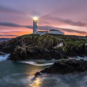 Ireland Lighthouse luxury print online by Enrico Lorenzani
