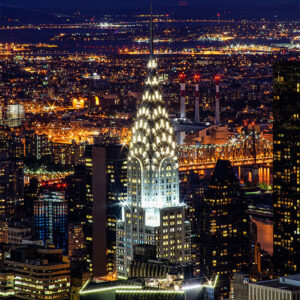 Chrysler Building prints for sale online - Enrico Lorenzani