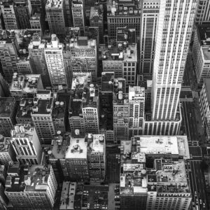 New York City View Prints for sale - NYC BW Enrico Lorenzani