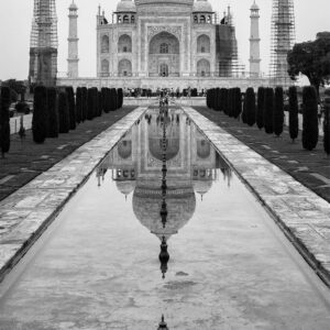 Tāj Maḥal India Black and White print for sale online