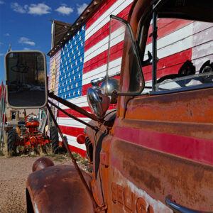 Route 66 Truck Prints for sale online - Enrico Lorenzani