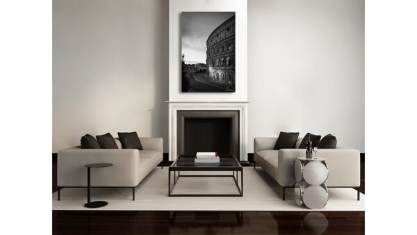 The Roman Colosseum bnw photographs for sale - buy online